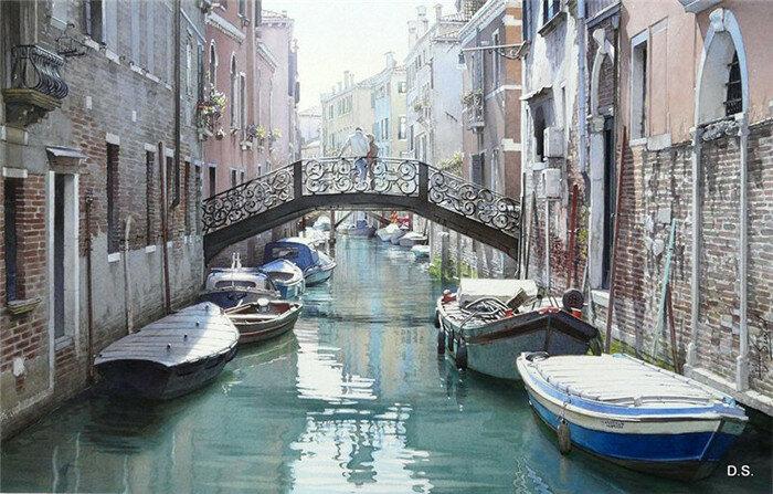 Мост встреч. Венеция, Италия. Автор: Thierry Duval.