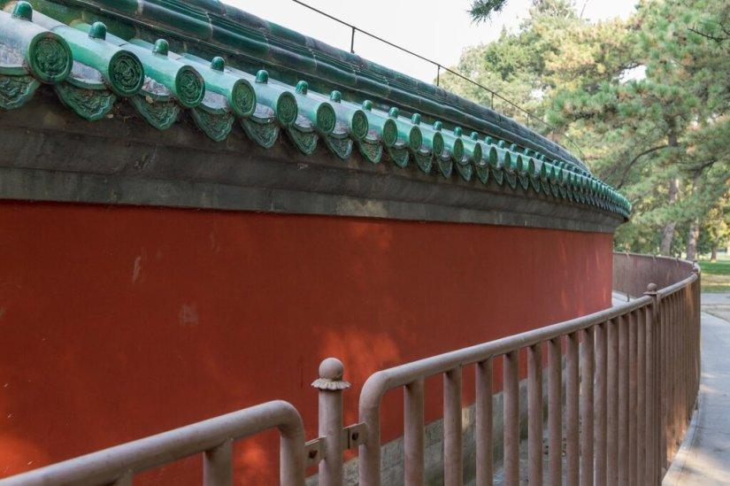 Круглая стена Алтаря Солнца, Житань, Пекин