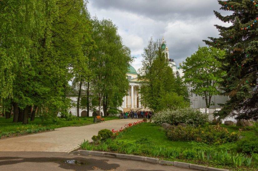 Территория монастыря, Спасо-Преображенский монастырь, Ярославль
