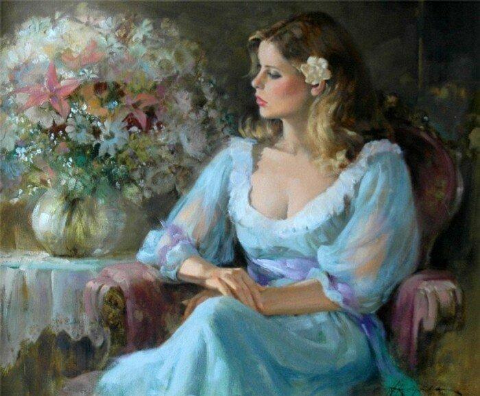 Если полюбишь, я буду любой... Ховард Роджерс. Женские портреты.