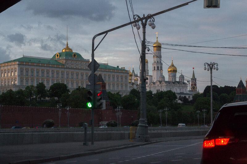 Вид на Кремль с Софийской набережной, Москва
