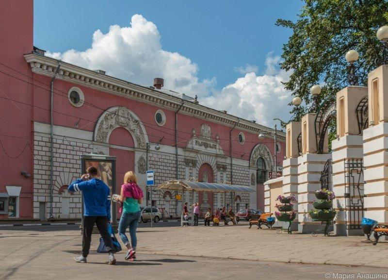 Вход в Городской сад, Тверской областной академический театр драмы, Тверь