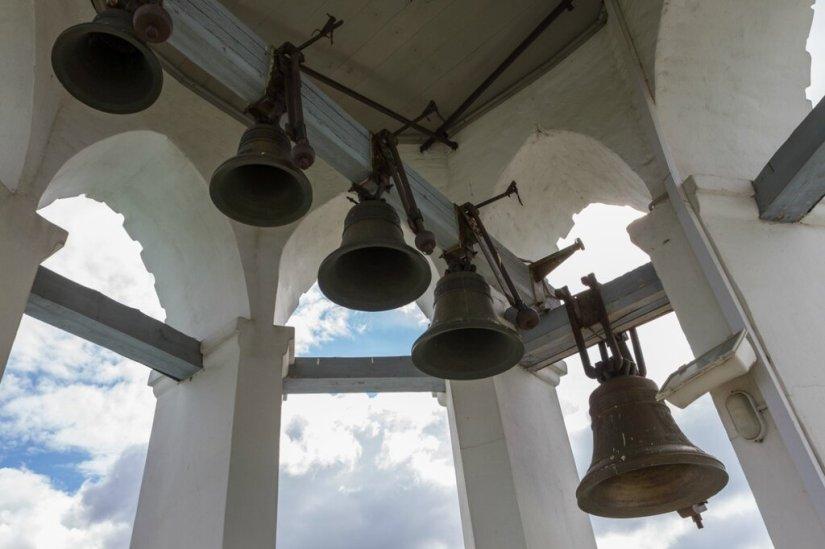 Колокола звонницы, Спасо-Преображенский монастырь, Ярославль