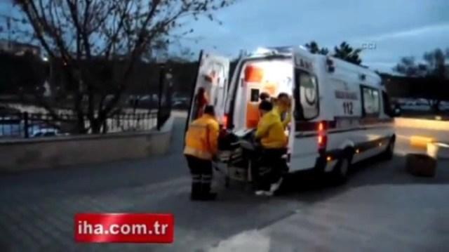 Турецкий дворник поймал девочку, выпавшую с 7 этажа