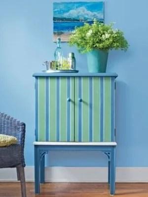 шкаф покрашенный роспись хендмейд