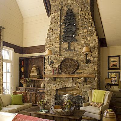 дом в природном стиле