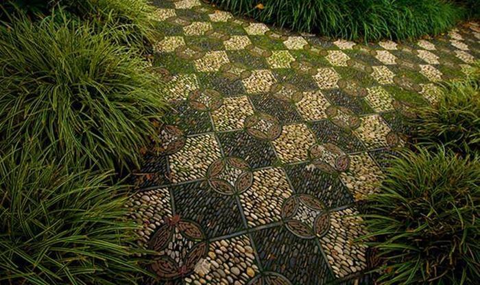 Садовые дорожки. Оформление, материалы, покрытие