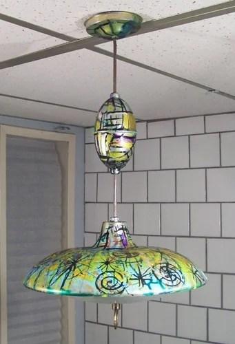 светильник хендмейд