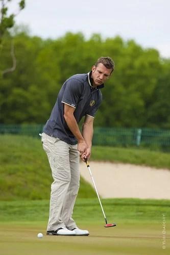 Andiy Shevchenko paying golf