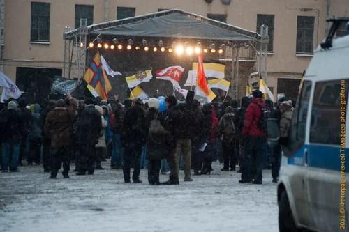 24 декабря, митинги Санк-Петербурга