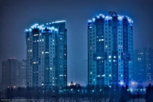 Фотографии ночной москвы, Архитектурный фотограф, фотосессии, Фотограф