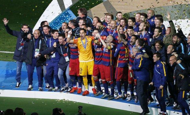 Барселона   переможець клубного черпіоната світу 2015 року