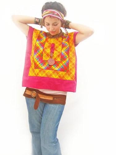 мексиканская национальная одежда этника хендмейд с вышивкой