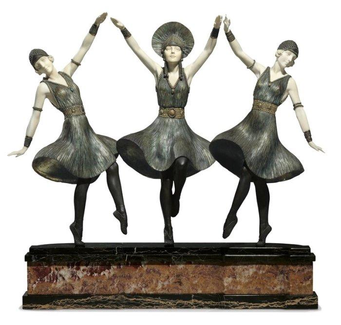 Танец бронзы Деметера Чипаруса