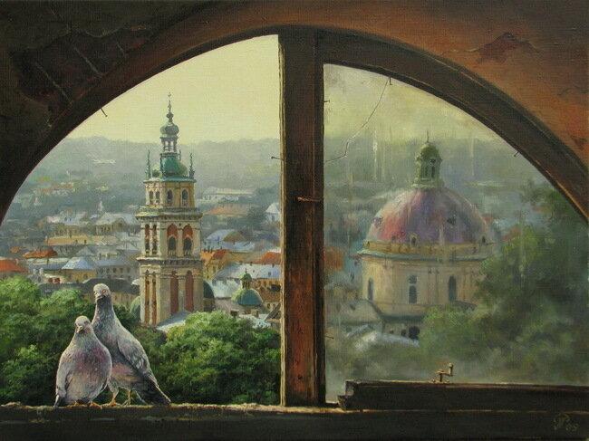 Душевные картины Игоря Ропяника