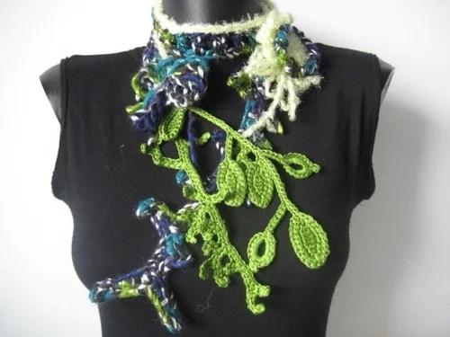 crochet freeform фриформ крючком одежда