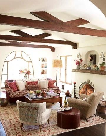 интерьер дома в сельском стиле