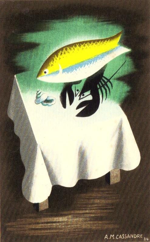 A.M Cassandre / Адольф Мурон Кассандр. Французский плакат первой половины ХХ века. История графического дизайна