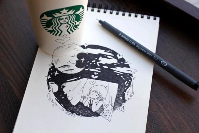 Кофейные фантазии by Tomoko Shintani