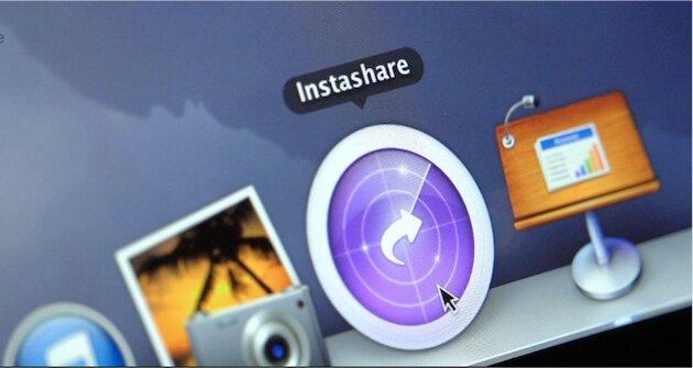 Instashare для iPhone и iPad