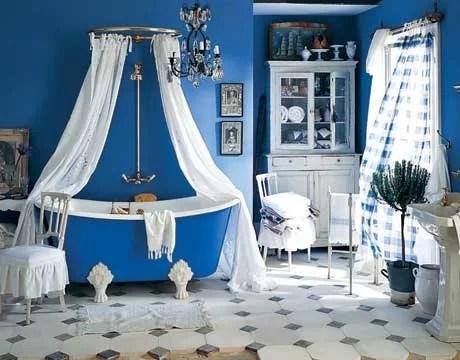 текстиль в декоре ванной