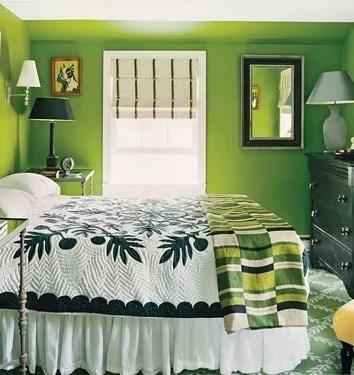 колористика интерьера спальни