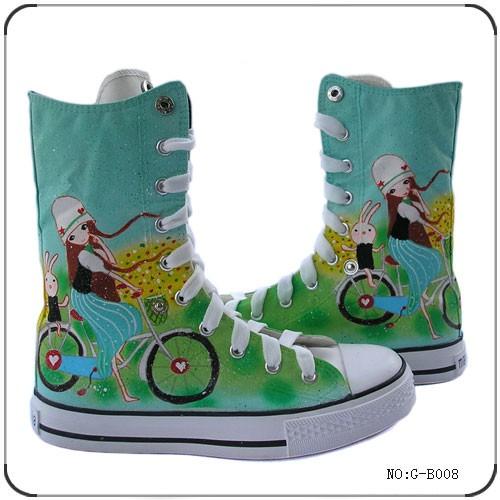 роспись обуви расписанные кеды рисунок на обуви