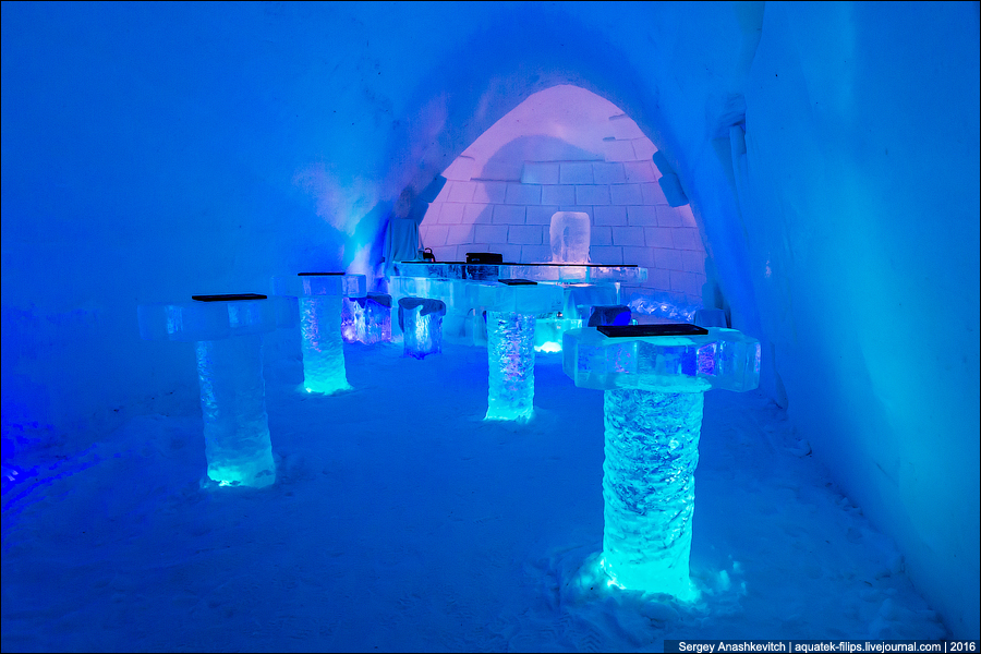 Snow Village in Lapland / ice hotel in Lapland