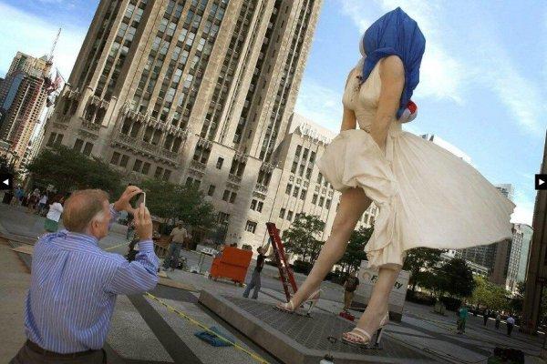 Памятник Мэрилин Монро в Чикаго. Обсуждение на ...