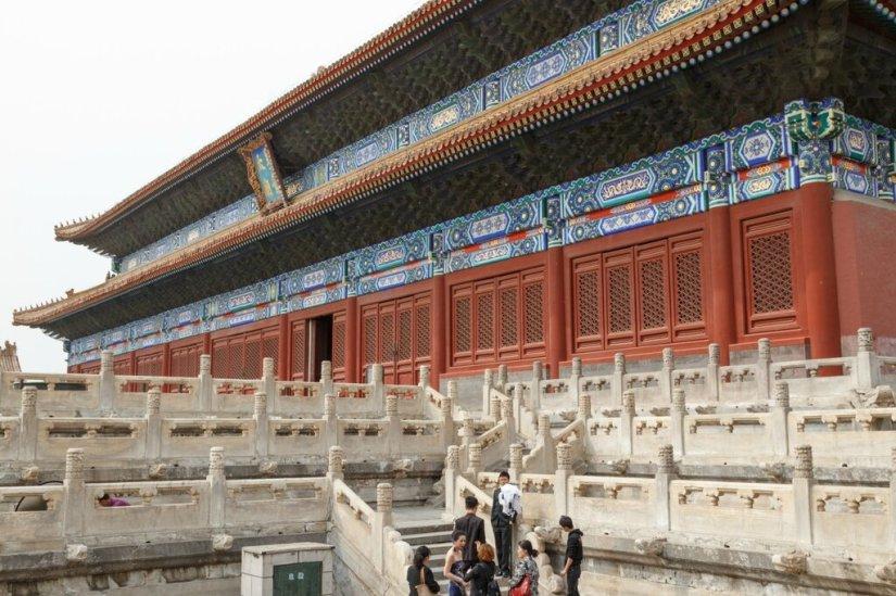 Зал Жертвоприношений, Храм Императорских Предков