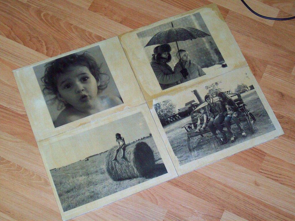 Перевод картинки с бумаги на дерево