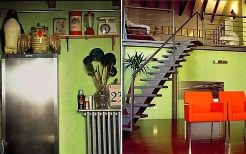 Multi-color interiors