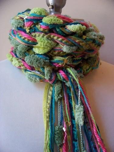 необычные шарфы