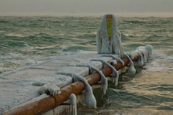 Замерзшее Черное море Лучшие фотографии со всего света