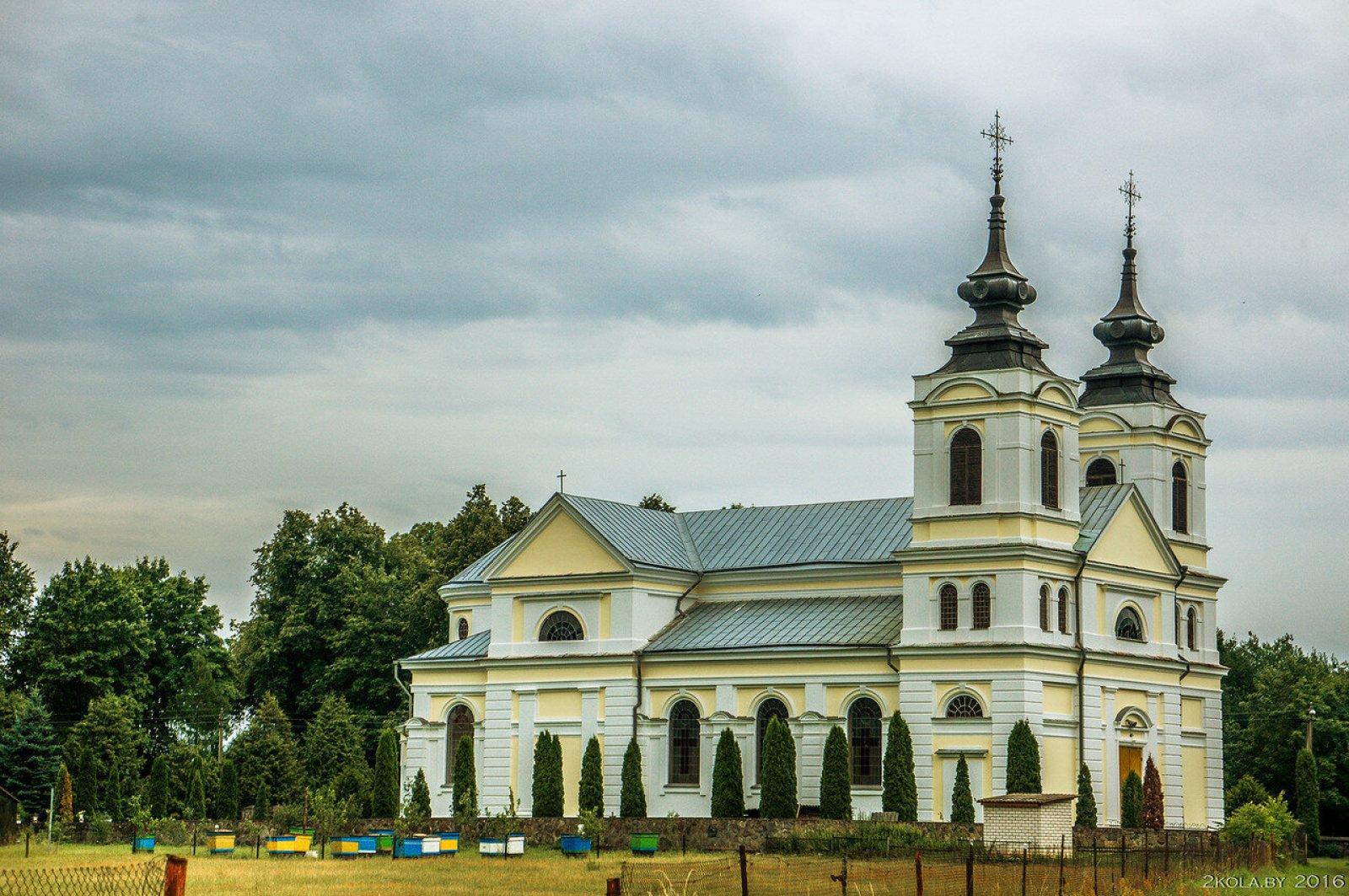 Костел св. Иоанна Крестителя аг. Бенякони