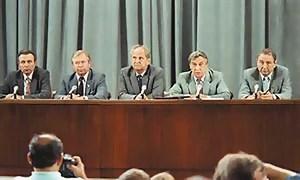 Выступление членов ГКЧП
