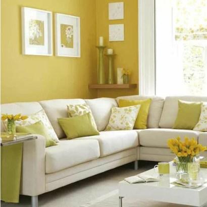 желтый цвет стен