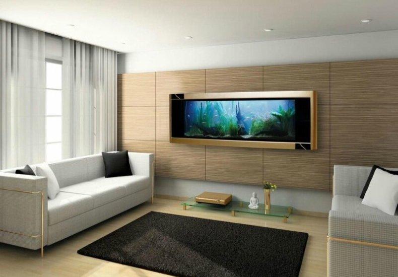 Аквариум в квартире: 10 способов вписать аквариум в интерьер