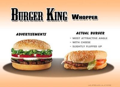 Как производители обманывают лживой рекламой