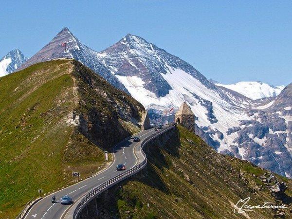Прекрасная дорога в Альпах. Обсуждение на LiveInternet ...