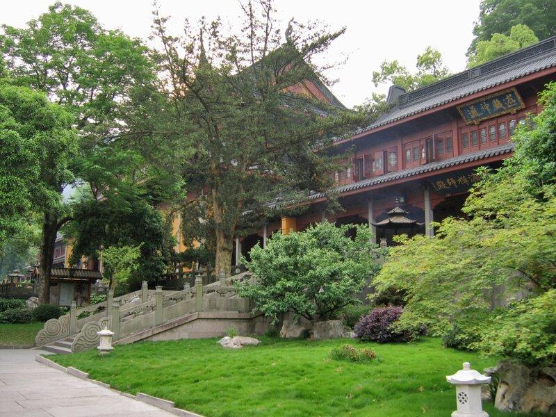 Монастырские корпуса, Монастырь Линъиньсы, Ханчжоу