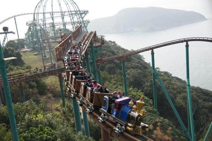 Китайские парки развлечений: знаменитая «Счастливая Долина»