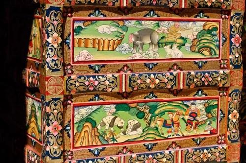 тибетская роспись