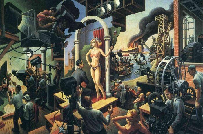 Томас Гарт Бентон. Певец доиндустриальной эпохи.