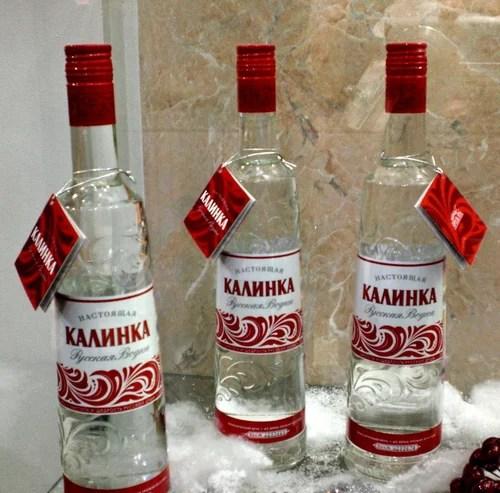 элитная водка - Настоящая Калинка