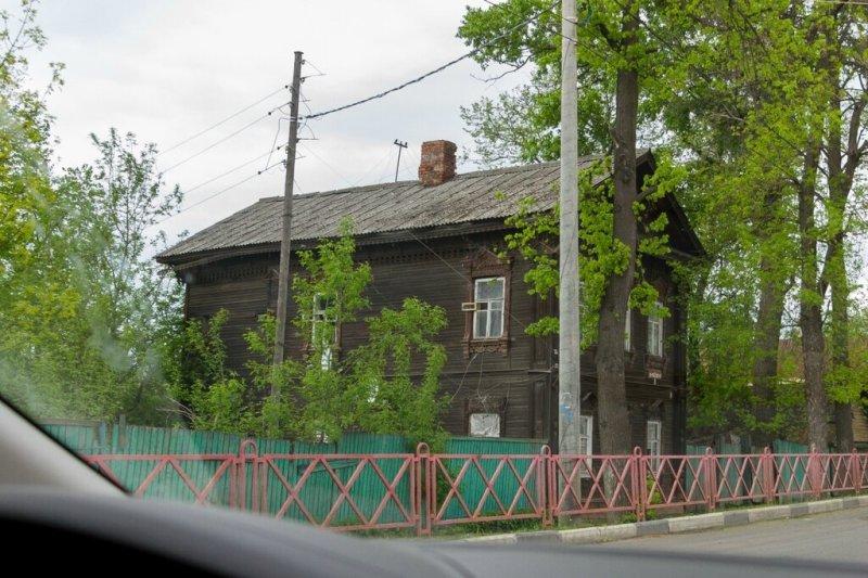 Старый деревянный дом, Ярославль
