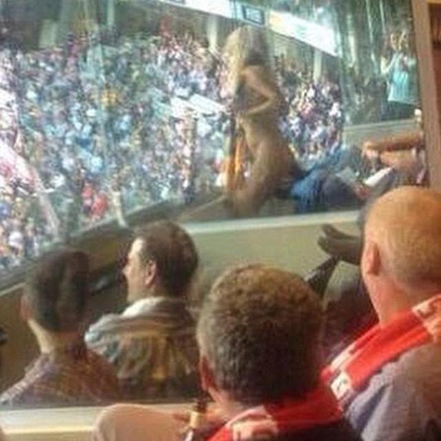 Хизер Маккартни оштрафовали за стриптиз на стадионе