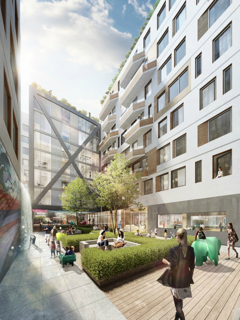 «Город в городе»: проект центра отдыха от ODA New York