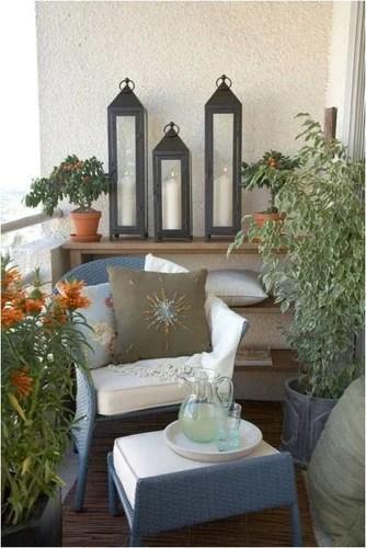декорирование балкона