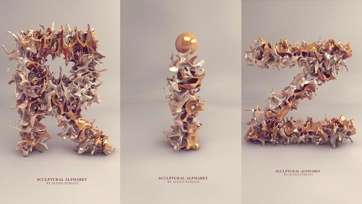 Графический дизайн от Alexis Persani. 35 вкуснейших фото